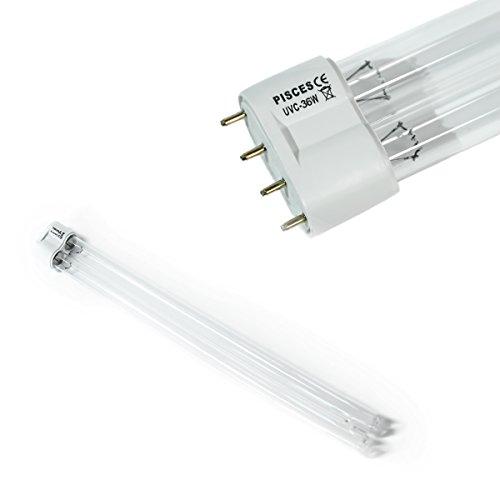 Pisces 36Watt PLL-UV-Leuchtmittel (36W)-Ersatz Lampe für Teich UVC (Ultraviolett-Filter) -