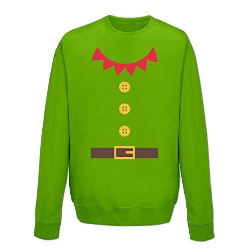 Shirtcity Santas Little Helper Costum Sweatshirt ()