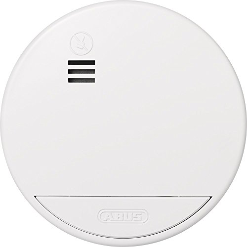 ABUS RWM100 photoelectrical Reflection Detector Wireless Smoke Detector – Rauchmelder (battery,...
