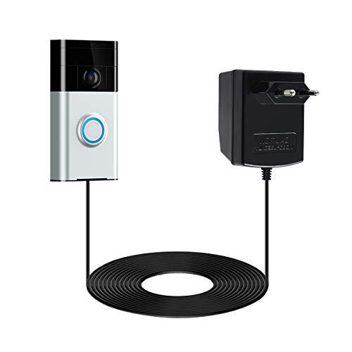 Netzteil Adapter für Ring Video Türklingel,LANMU Power Supply für Ring Video Türklingel 2/Ring Video Doorbell Pro (EU Stecker)