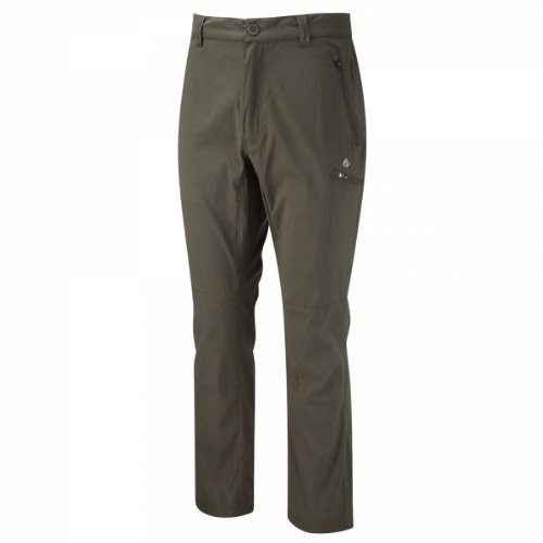 Craghoppers Herren Kiwi Pro Activ Hose , grün(Dk Khaki), 54 DE (Herstellergröße: 38 UK) (Ultimate Khaki-hosen)
