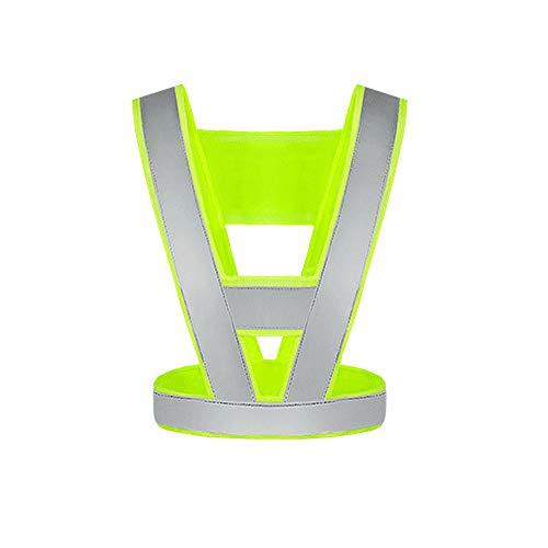 ZPWSNH Reflektierende Weste, Verkehrs- / Hygienegeschirr, reflektierender Anzug mit hoher Intensität Reflektierende Westen (Color : A)