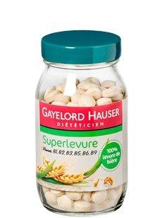 GAYELORD HAUSER - Ingrédients diététiques - Superlevure - comprimés 100% levure de bière - Vitamines-Minéraux - 100g