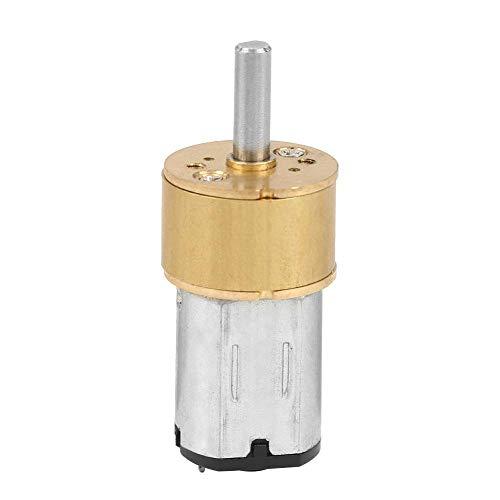 Getriebemotor, DC6V 14MM N20 Micro Metal Gearbox Staubdichter Motor mit geringer Wärmeentwicklung und geringem Verlust für elektronische Schlösser, kleine Roboter usw. (600 RPM)