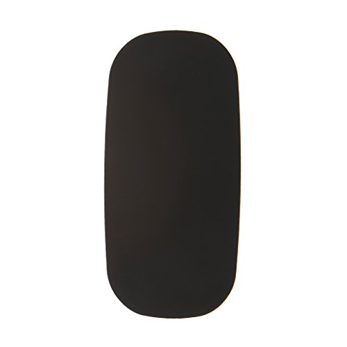 Computer Maus Skin Cover Soft Ultra Thin Coque for Apple Magic Mouse Case Silicon Solid Cover Schwarz