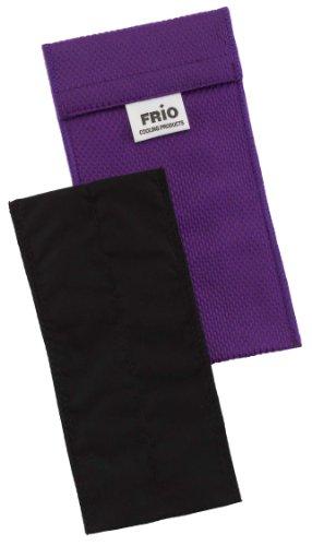 Frio Doppel Kühltasche für Insulin, 8 x 18 cm, Lila