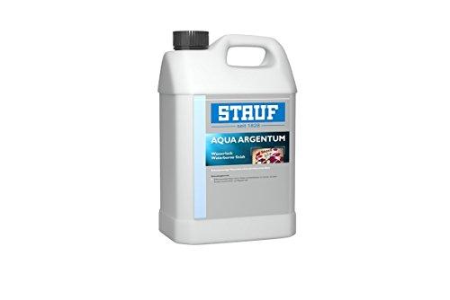 Stauf 151332 1K-Wasserlack auf Acrylat-Polyurethan-Basis Aqua Argentum halbmatt, 5l