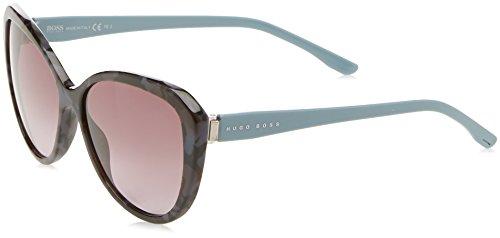 BOSS Hugo Damen 0845/S EU 6XE Sonnenbrille, Grau (Gryhvn Azure/Grey Sf), 59