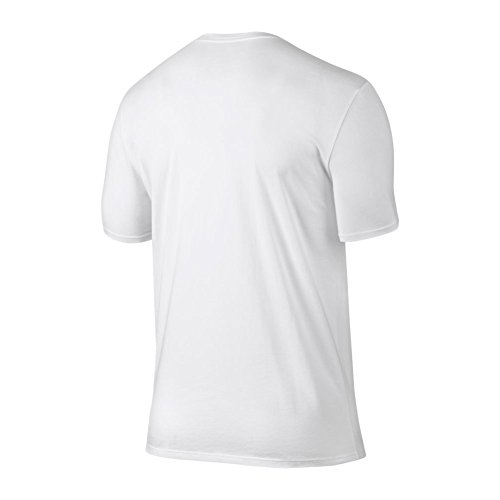 ... Nike M JSW Tee Iconic 23 Logo T-Shirt, Herren Weiß (White ...
