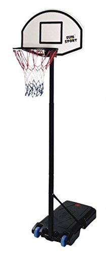 giocheria rdf50278 sport&fun basketball da terra cm.150/210