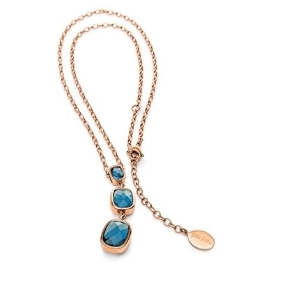 folli-follie-elements-rose-gold-plated-3-blue-crystals-pendant-50201889