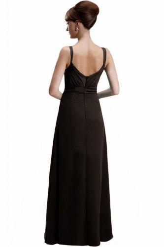 Lemandy - Robe -  Femme Multicolore Bigarré Custom-made Size Multicolore - Noir