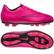 Nike Mercurial Vortex II FG-R - Botas para niño, Color Rosa/Negro, Talla 36.5