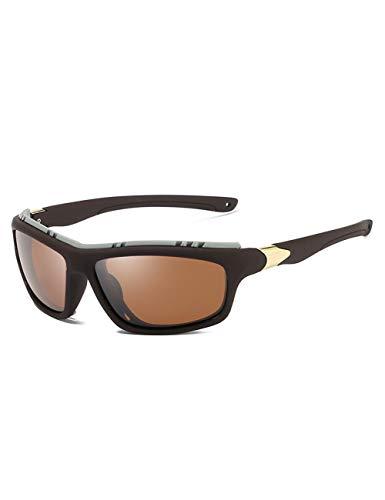DPDH Sonnenbrillen Die Polarisierten Armee-Schutzbrillen-Sport-Treibenden Sonnenbrillefishing Men Tactical Sun-Gläser Der Spitzenmänner3-Tea-Tea