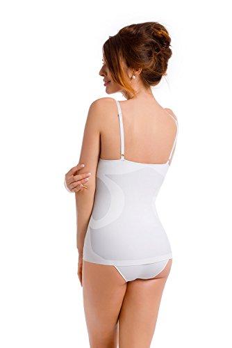 envie Shapewear Unterhemd figurformend verstellbare Träger Weiß