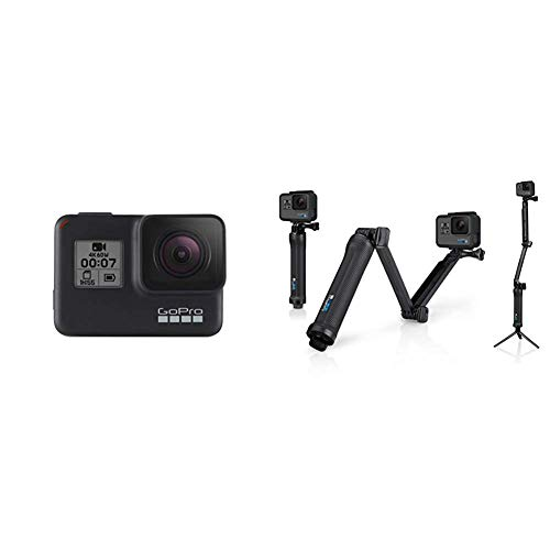 GoPro HERO7 Black con 3-Way Arm
