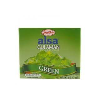 LADY'S CHOICE Alsa Gulaman - Green 90 g