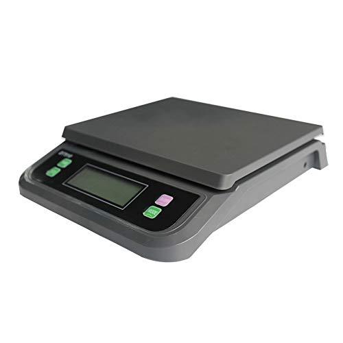 ZCXBHD 30kg / 1g Báscula Electrónica Cocina Postal Electronica Escala Portátil Paquete Báscula Comida...