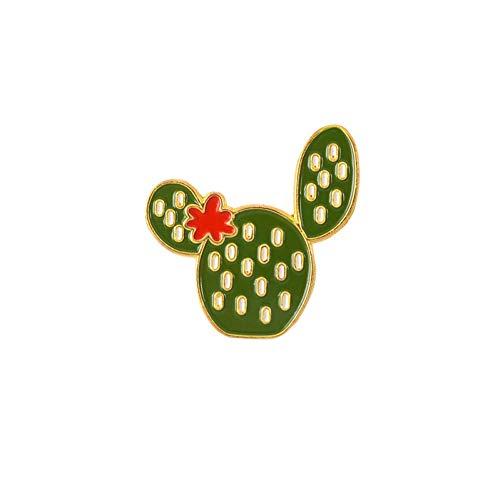 WYFCP Brosche Cartoon Brosche Collection Kaktus Baum Toast Alpaka Katze In Box Alpaka Toast Corgi Pins Abzeichen Emaille Pins Revers Pin Für Frauen Männer - Cactus Box Katzen