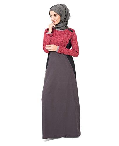 Silk Route Modest Red Fashion Jilbab Abaya Burka