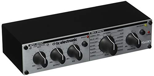 tc electronic M100 Stereo Multi-Effects Processor with Legendary TC Reverbs and Effects