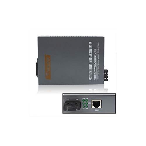 FIBER OPTIC CABLE ADAPTER Emetteur Récepteur 10/100/1000M Multimode Gigabit Adaptive Optique - 1000 Fiber Optic