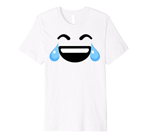 Lachen Tränen emojis Shirt | Cute Happy Laugh Face Tee Geschenk - Happy Face Tee