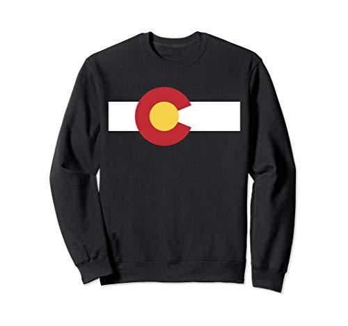 Colorado USA Flag Rocky Mountain  Sweatshirt -