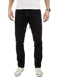 Yazubi Joggers Uomo Jeans Erik - Skinny Slim Fit Sweatpants 747c3d5f79b
