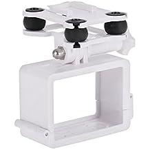 Goolsky Amortiguador Anti-vibración de montaje en cámara Gimbal PTZ para X16 CG035 Syma X8 RC Quadcopter Drone