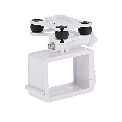 Goolsky Amortisseur de choc Caméra Anti-vibration Mount PTZ pour x 16 CG035 SyMa x 8 RC Quadcopter Drone