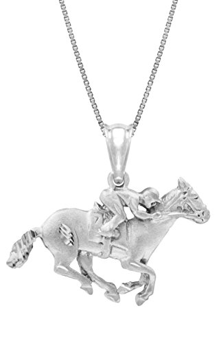 in-argento-sterling-con-ciondolo-a-forma-di-cavallo-da-corsa-con-jockey-18-casella-catena