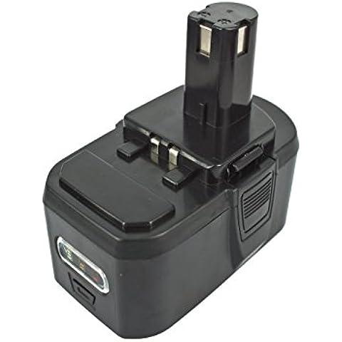 PowerSmart® 18V 4000mAh Li-ion batteria per RYOBI One +, rbl18l15, r18ag-0, r18js 0, R18SDS -0, oht1855r, OHT 1855R, RMT1801M, cpl180mhg, cro180mhg, OBL1802 - Ops Serie