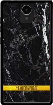 MOBILINNOV Archos Core 50 Minimal Marbre Noir Silikon Hülle Handyhülle Schutzhülle - Zubehor Etui Smartphone Archos Core 50 Accessoires
