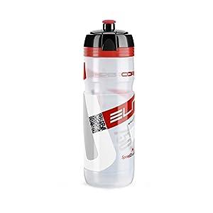 31rNEM0aYQL. SS300 Elite FA003514219 - Borraccia Supercorsa, 750 ml, Trasparente/Rosso