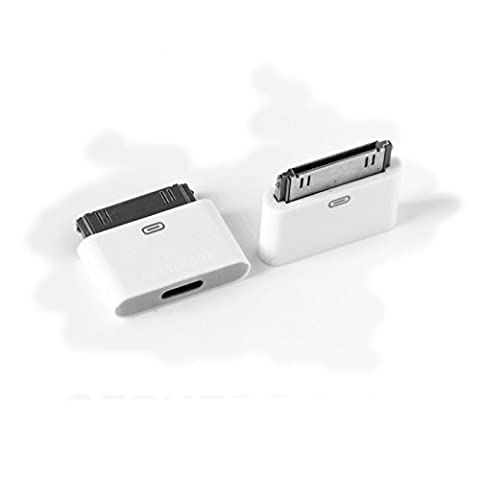 Obsyn Lightning 8 Pin Female to 30 Pin Male Adapter for iPhone 4/4S iPod Touch 4