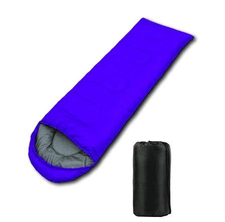 RTGFS Schlafsack Outdoor Schlafsack Adult Camping Single Travel Schlafsack Umschlag Schlafsack (190 + 30) * 75Cm Hellblau - Coleman Damen Schlafsack