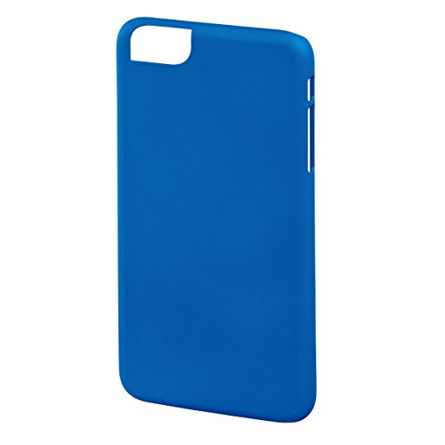 Hama Rubber Case für Apple iPhone 6 Plus, Weiß, Gummi, blau, iPhone 6 Plus blau