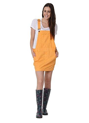 USKEES CLAIRE Kurze Latz Kleid übergroße Oversized Latzhosenkleid Damen-Latzklei CLAIREORANGE-16