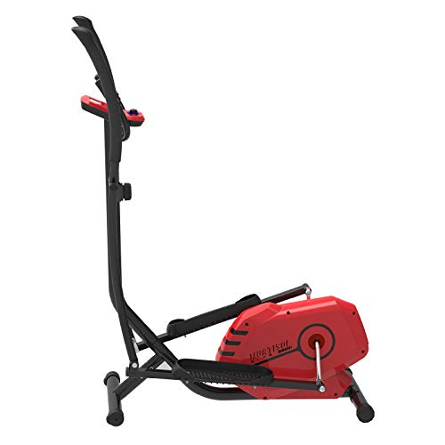 Murtisol Crosstrainer Modell E150T Sport Ellipsentrainer Elliptical Machine Heimtrainer mit Trainingscomputer,Handyhalter,Handpulssensoren -