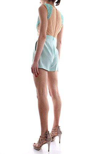 ELISABETTA FRANCHI TU6553236 élégant costume Femme ACQUAMARINA