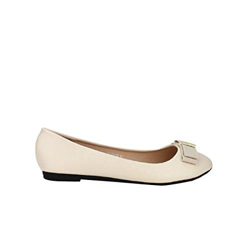 Cendriyon, Ballerine beige CINKS MEE Chaussures Femme Beige