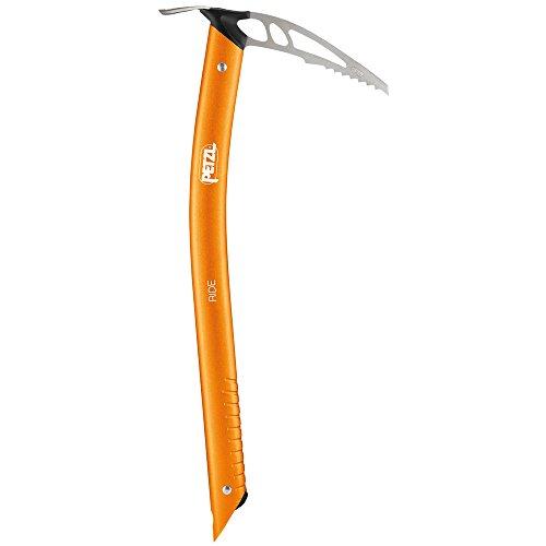 Petzl ride ultra leggero, compatto e piccozza per sci alpinismo. e freeride, un colore, 45cm