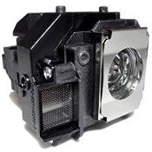 PJxJ Beamer proyector Lámpara LP58 para EB X9 beamer