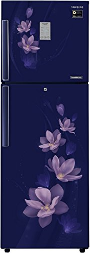Samsung 275 L 4 Star Frost-free Double Door Refrigerator (RT30M3954U7/HL, Magnolia Blue)