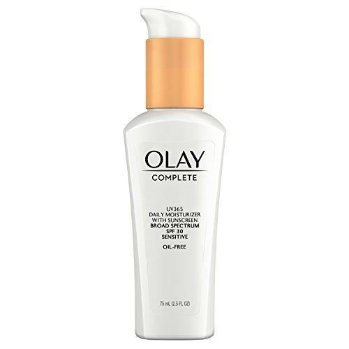 Olay Complet Daily Défense Toute La Journée Hydratant Avec Crème solaire Spf30 - Peau Sensible 2.5 Fl. Oz (Paquet De 2)