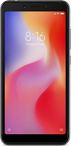 Mi Redmi 6A (Black, 2GB RAM, 16GB Storage)