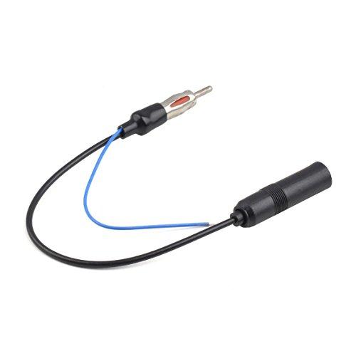 12-24 V Voiture FM/AM Radio Stéréo en Ligne Antenne Booster Signal Amp Amplificateur Femelle et Mâle 280mm Longueur