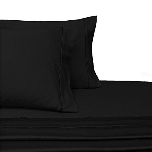 Fadenzahl 300Twin Extra lange Größe Bettlaken Set 100% ägyptische Baumwolle 3-teiliges Bed Sheet Set (Deep Pocket) Twin XL von sheetsnthings..., baumwolle, schwarz, Twin XL (Sheet Set Twin Lange)
