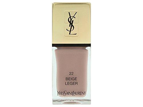 Yves Saint Laurent La Laque Couture Nagellack Nr. 22 Beige Leger 10ml (Laurent Saint Nagellack Yves)